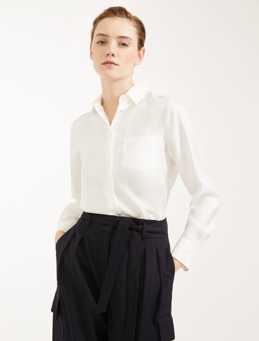 Silk twill shirt Weekend Maxmara