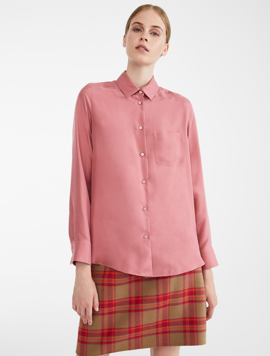 Camicia in twill di seta Weekend Maxmara