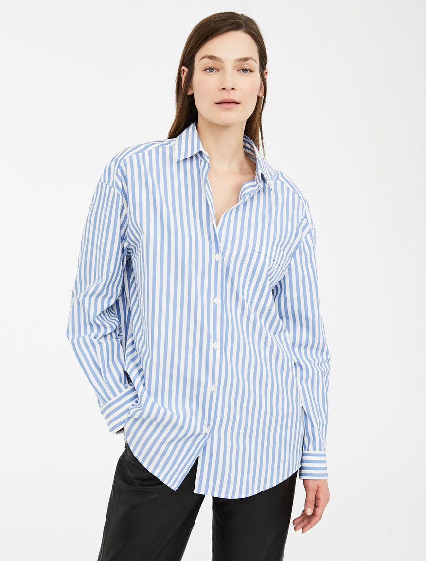 Camicia in twill di cotone Weekend Maxmara