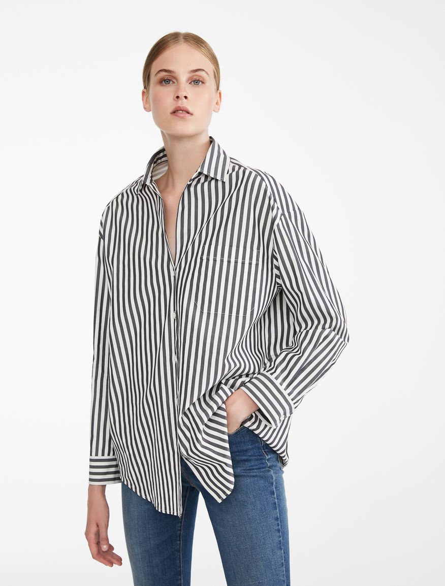 Cotton twill shirt Weekend Maxmara
