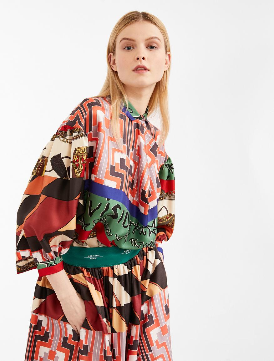newest b00d9 df089 Camicie e Bluse da Donna in Seta o Cotone | Weekend Max Mara
