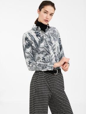 Camicia in crêpe de Chine di seta Weekend Maxmara