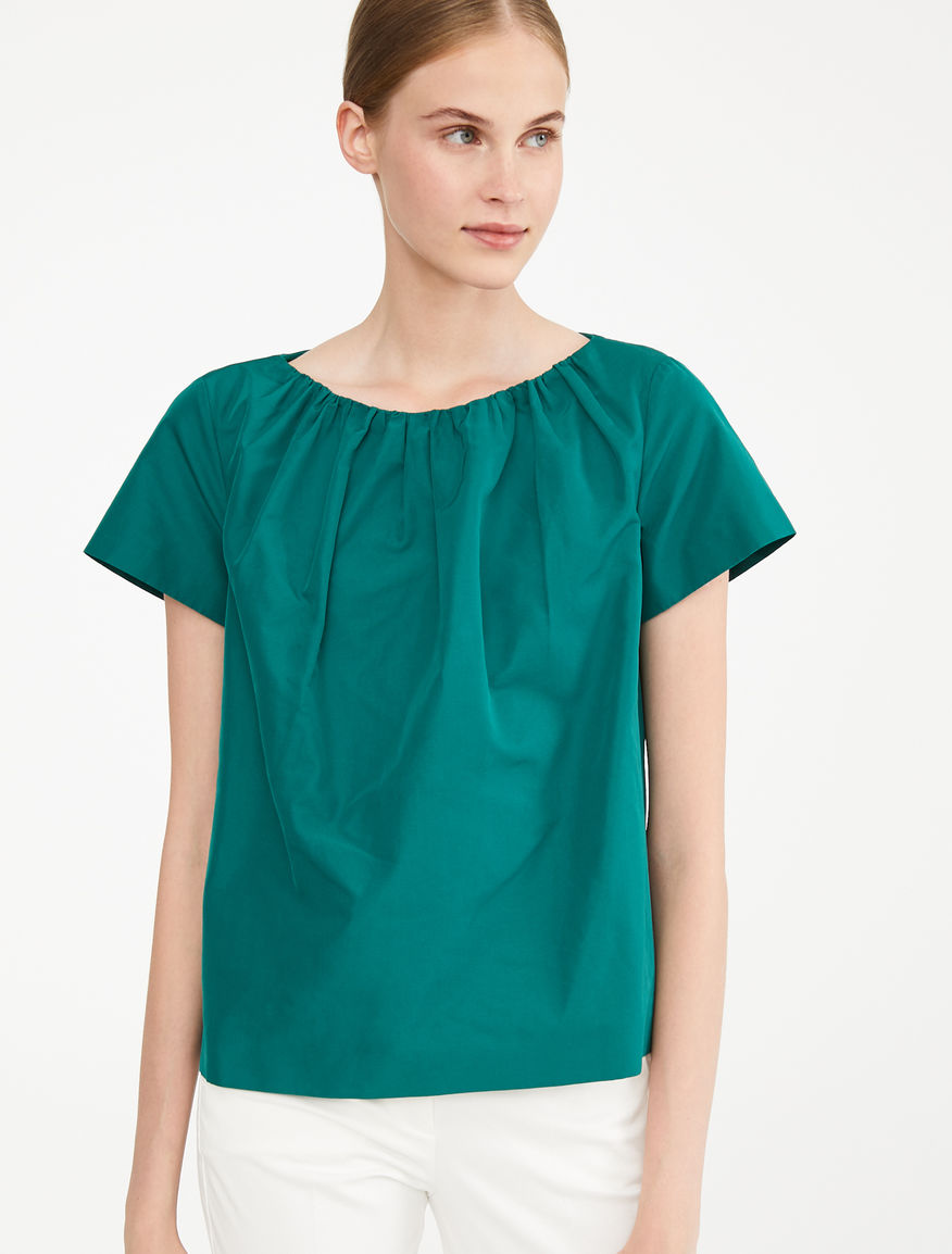 Cotton twill top Weekend Maxmara