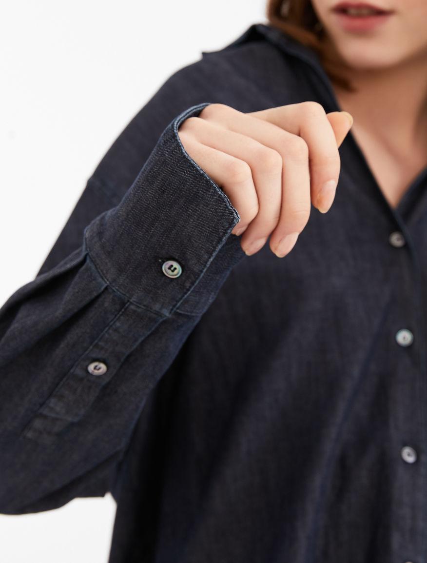 Cotton denim shirt Weekend Maxmara