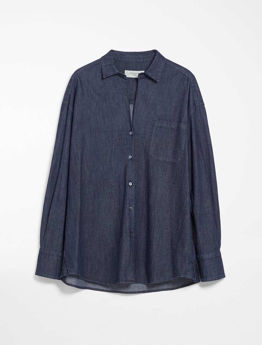 Camicia in denim di cotone Weekend Maxmara