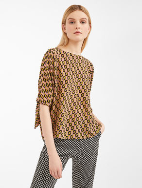 Blusa in crêpe de Chine di seta Weekend Maxmara
