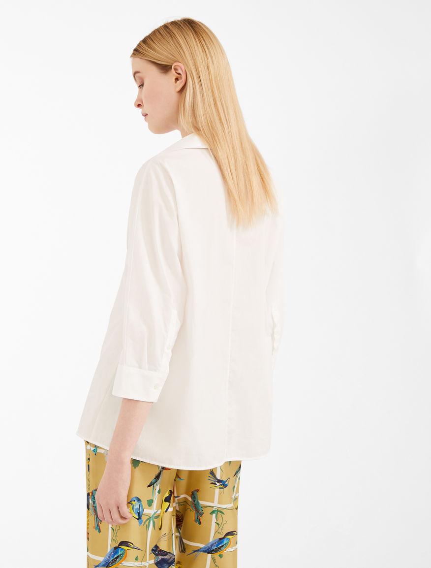 Cotton poplin shirt Weekend Maxmara