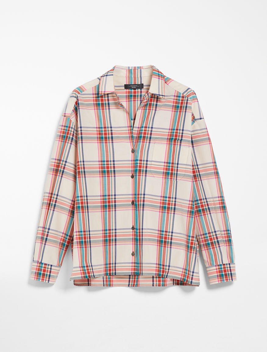 Cotton canvas shirt Weekend Maxmara
