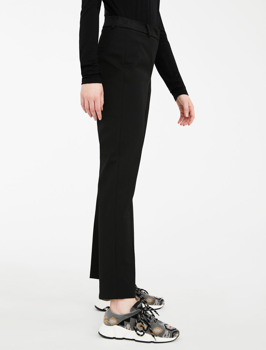 Viscose gabardine trousers Weekend Maxmara