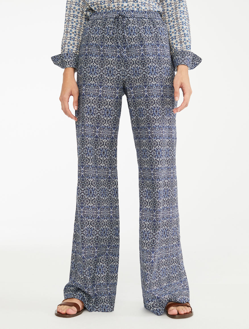 Pantaloni in voile di cotone Weekend Maxmara