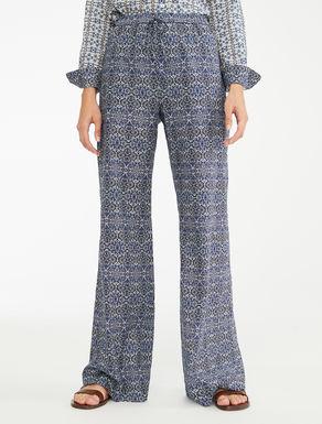 Pantaloni in voile di cotone Weekend Maxmara