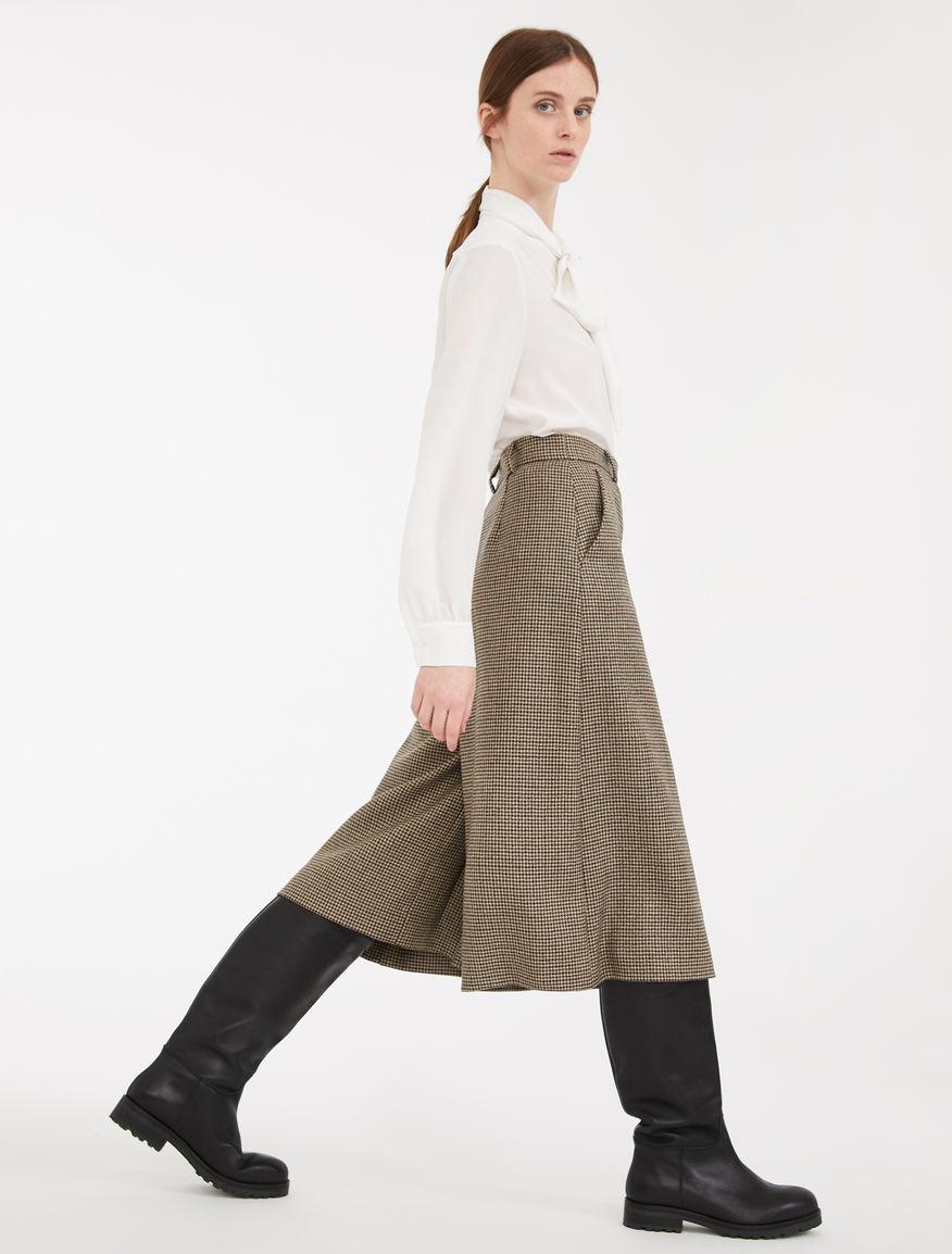 Twill wool skirt trousers Weekend Maxmara