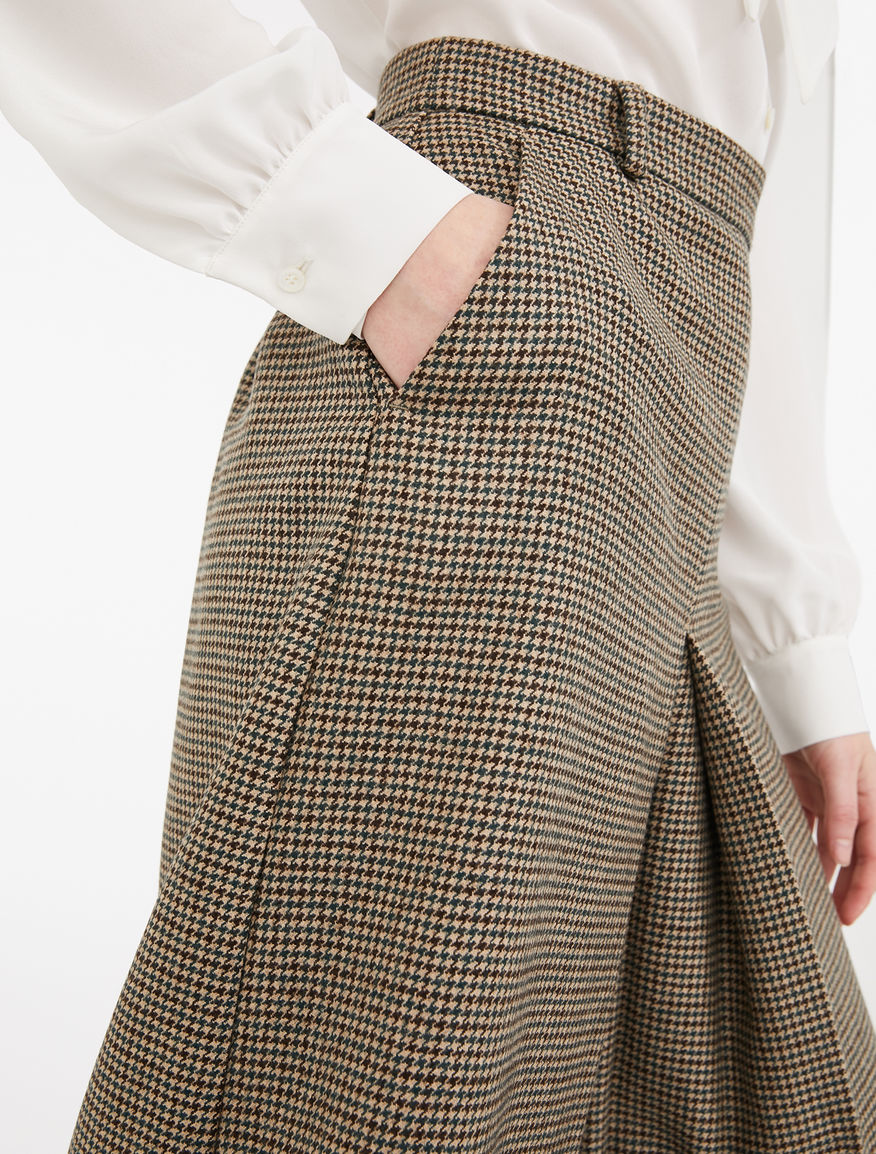 Twill wool skirt trousers Weekend Maxmara