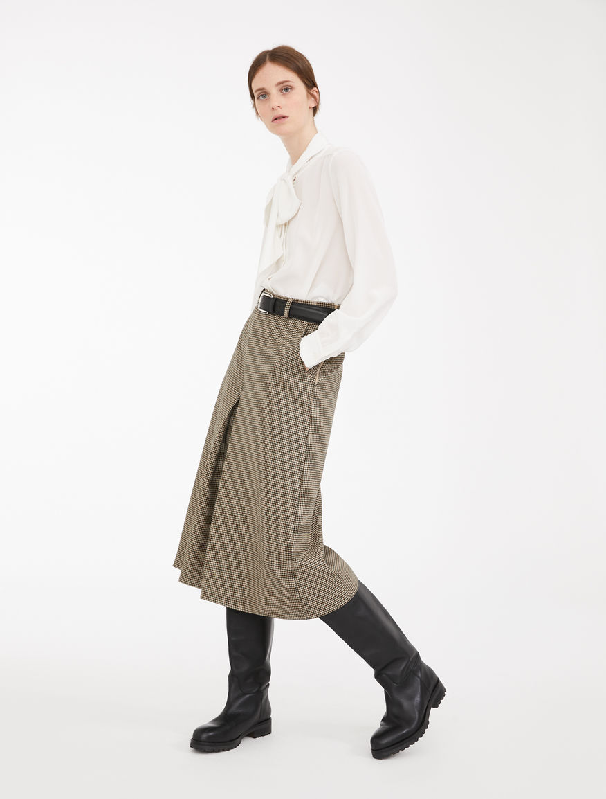 Gonna pantalone in batavia di lana Weekend Maxmara