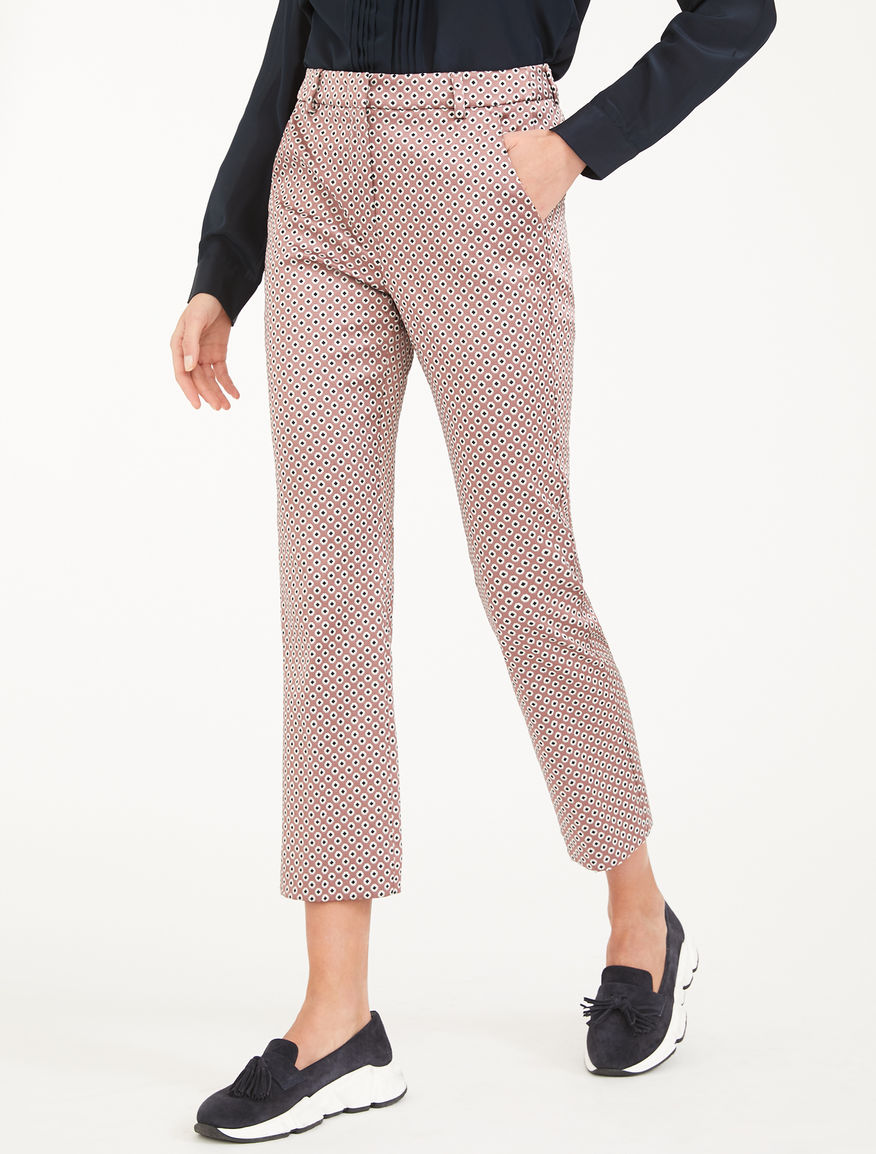 Jacquard trousers Weekend Maxmara