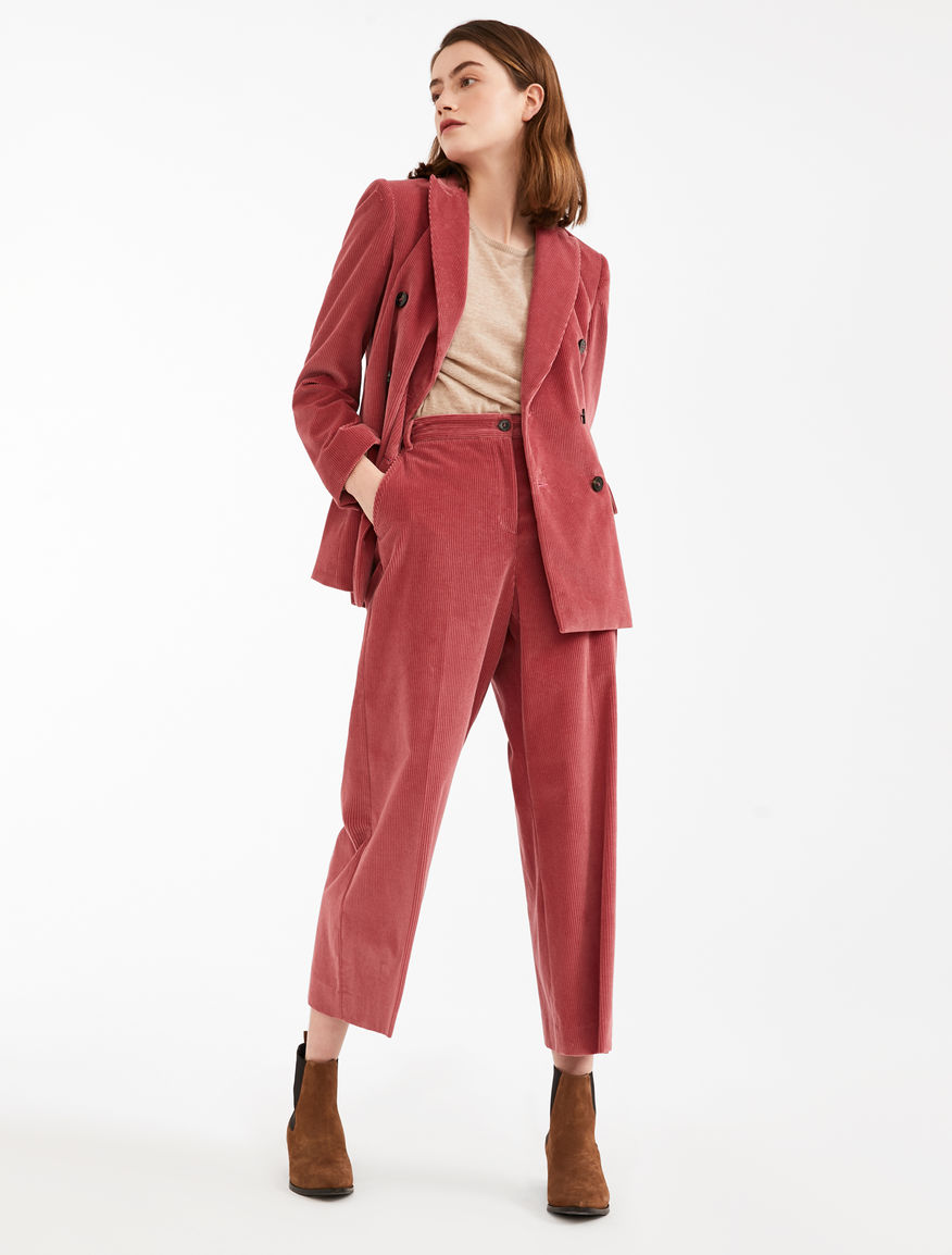 Corduroy trousers Weekend Maxmara