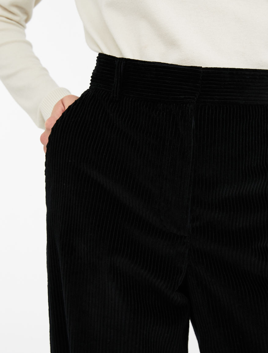 Pantaloni in velluto di cotone Weekend Maxmara