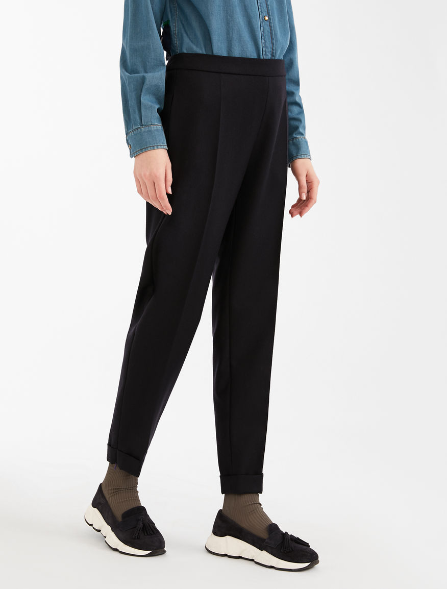 Wool flannel trousers and tulle Weekend Maxmara