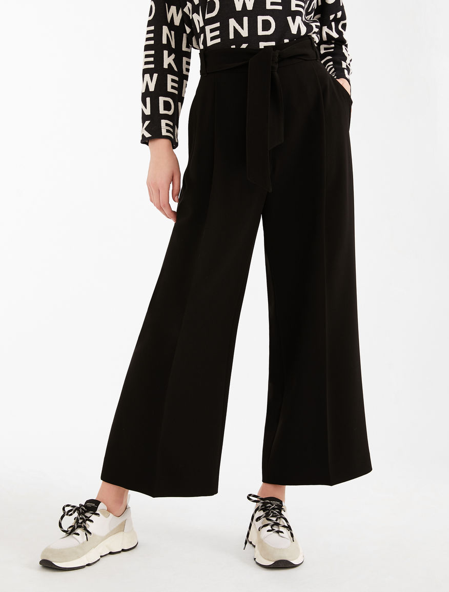 Pantaloni in tessuto tecnico Weekend Maxmara