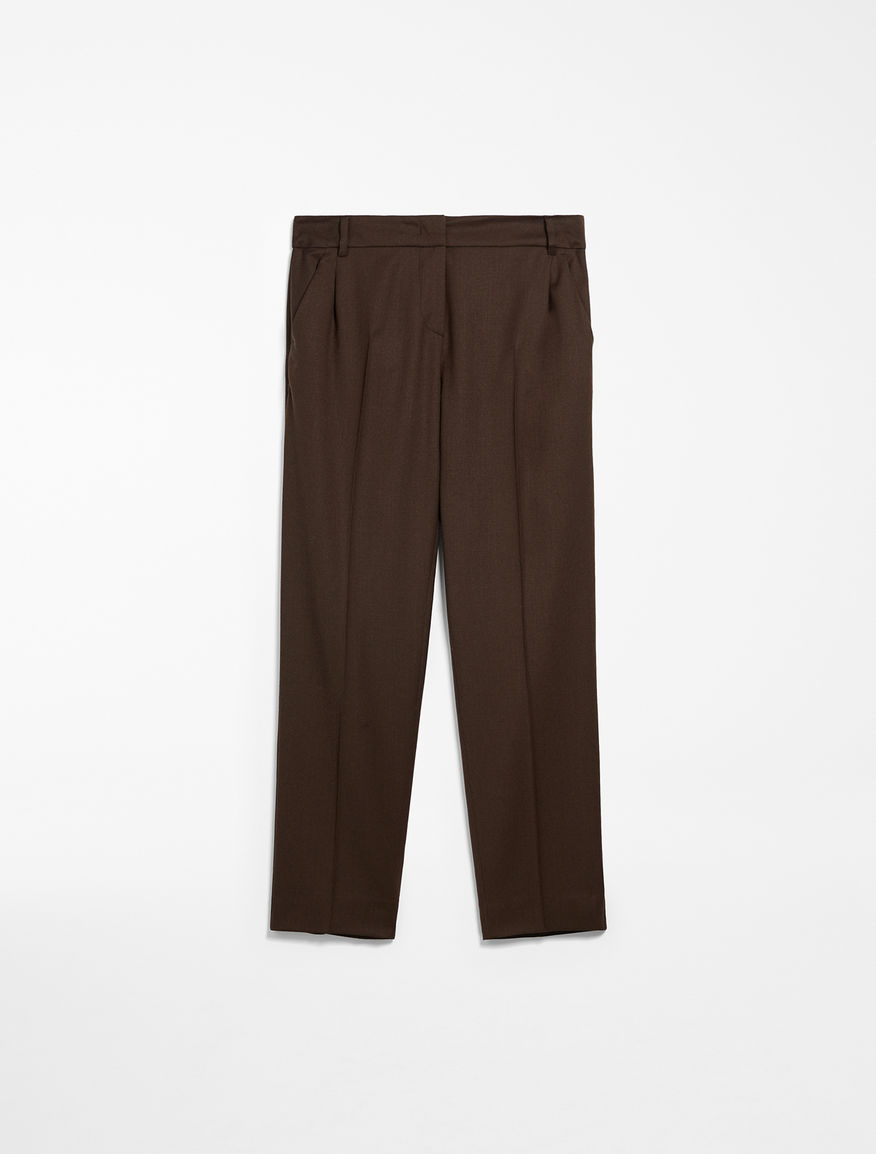 Wool flannel trousers Weekend Maxmara