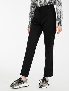 Pantaloni in twill di lana Weekend Maxmara
