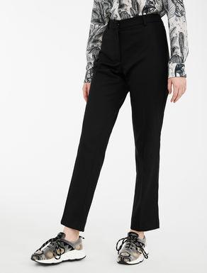 Pantaloni in twill di lana Weekend Maxmara