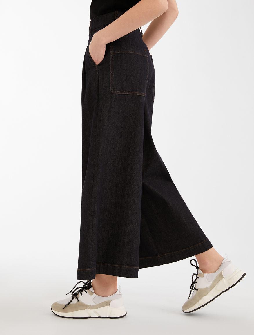 Denim trousers Weekend Maxmara
