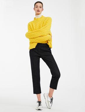 Pantaloni in denim di cotone Weekend Maxmara