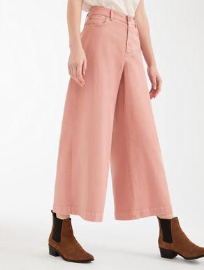 Pantaloni in bull di cotone Weekend Maxmara