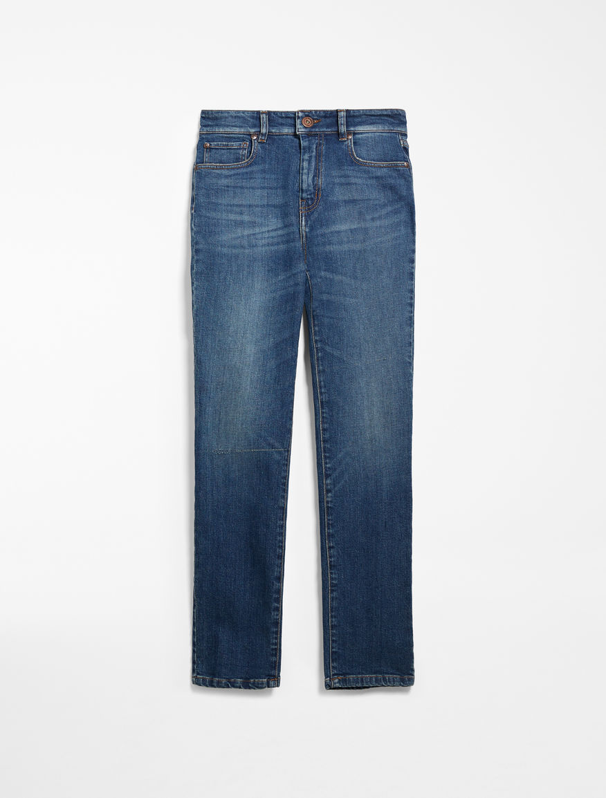 Straight jeans in stretch denim Weekend Maxmara
