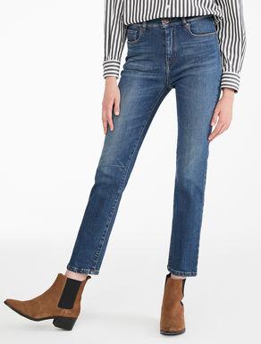 Jeans dritti in denim stretch Weekend Maxmara