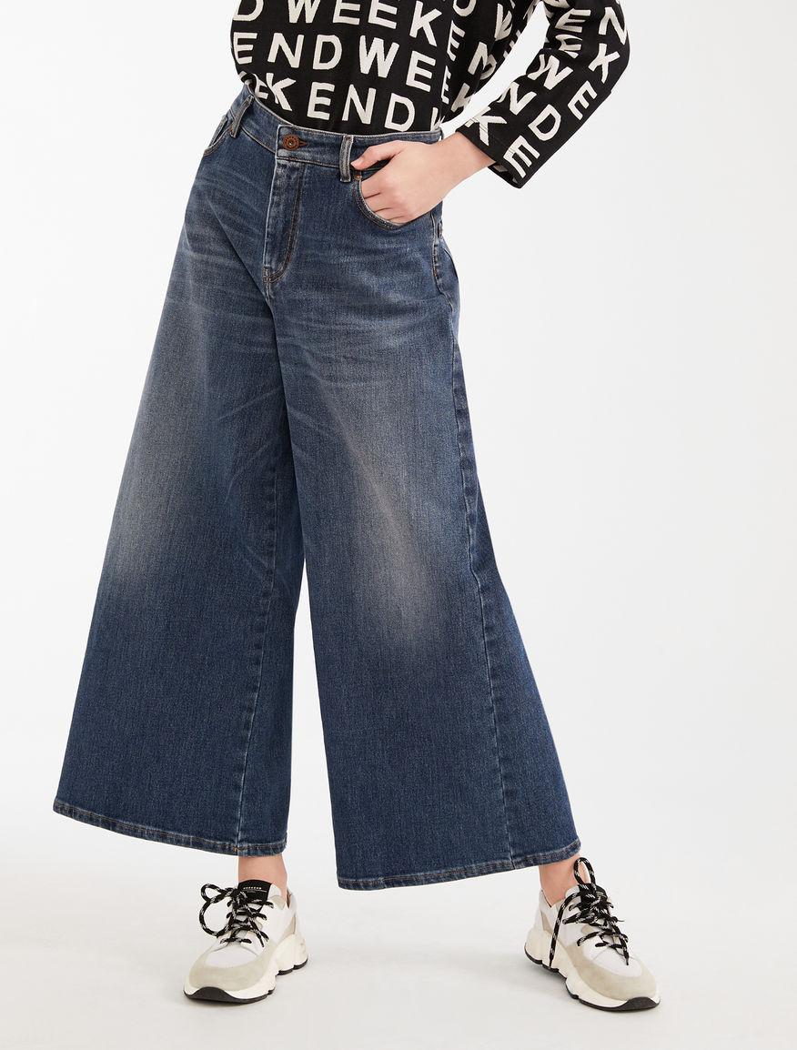 Wide-leg denim jeans Weekend Maxmara