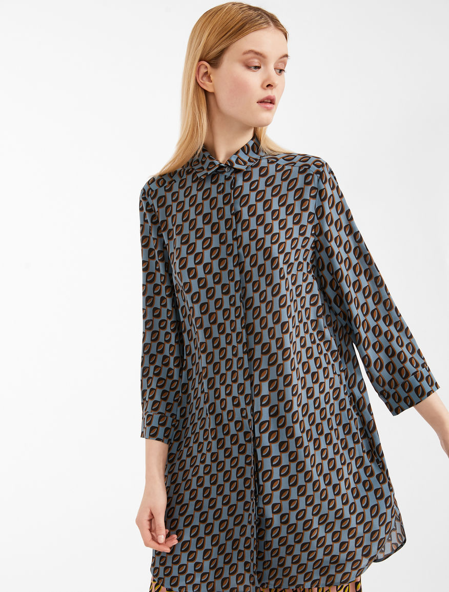 Silk crepe de chine tunic Weekend Maxmara