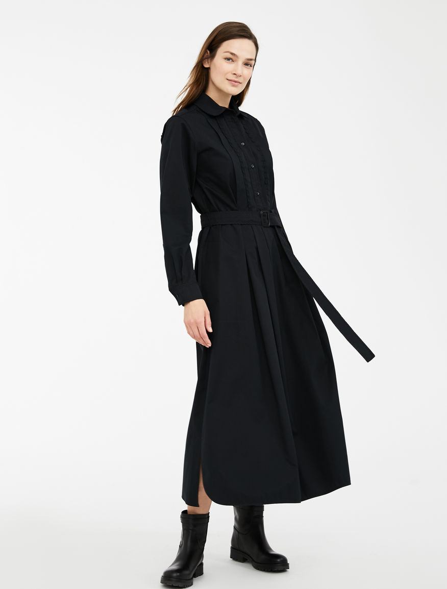 Cotton gabardine dress Weekend Maxmara