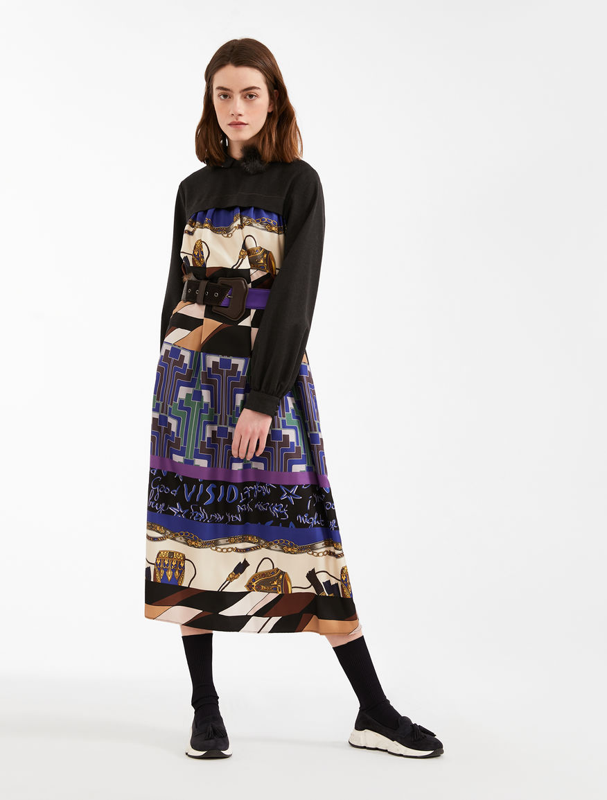 Silk twill dress Weekend Maxmara