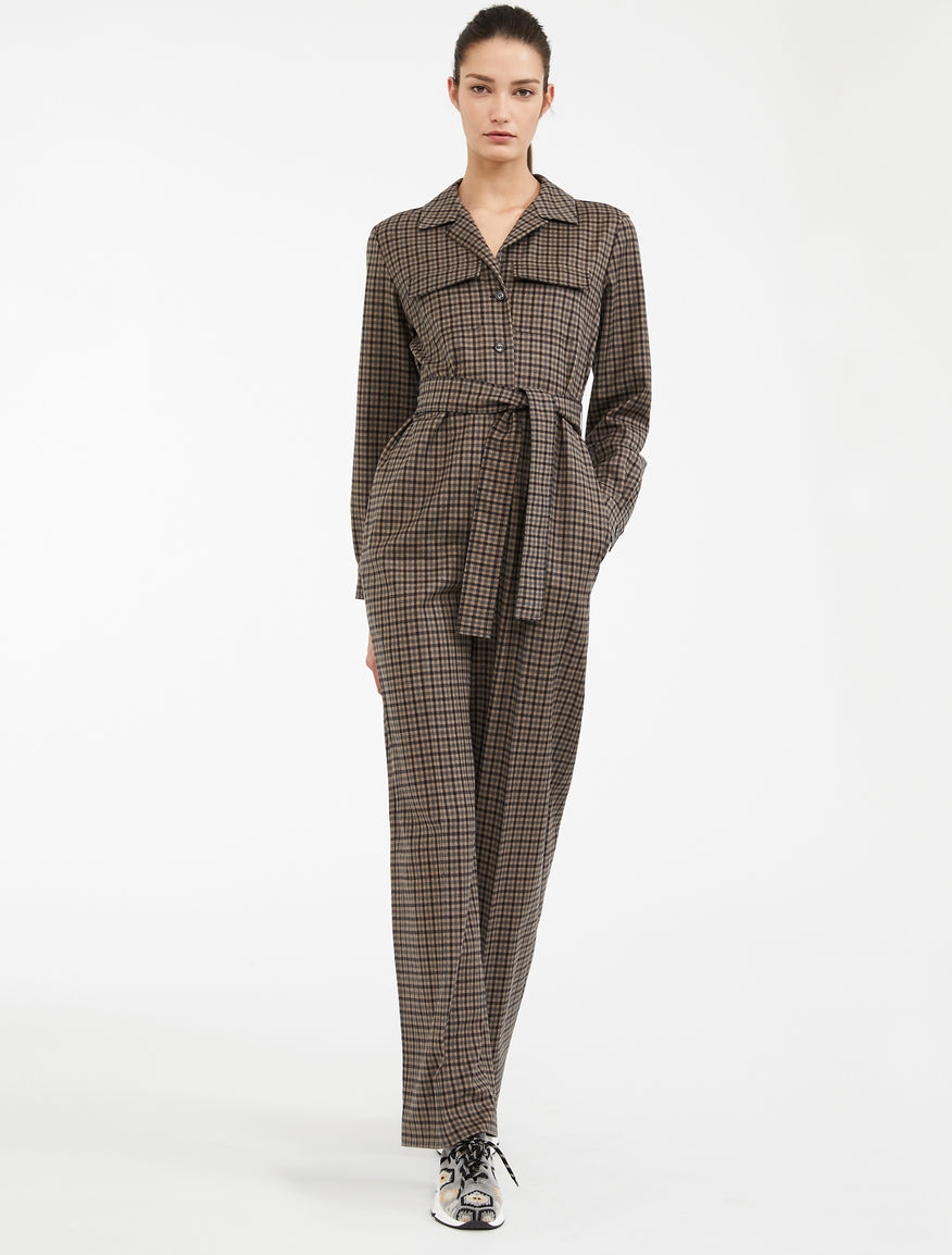 Wool flannel jumpsuit Weekend Maxmara