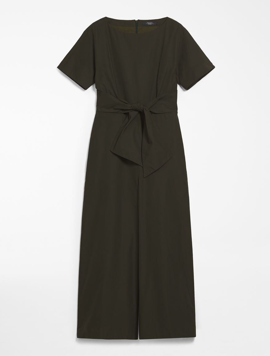 Cotton twill jumpsuit Weekend Maxmara