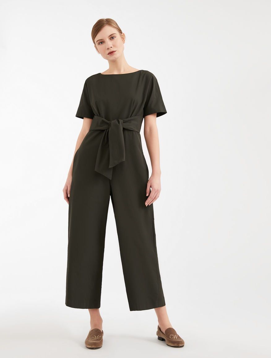 Tuta in twill di cotone Weekend Maxmara