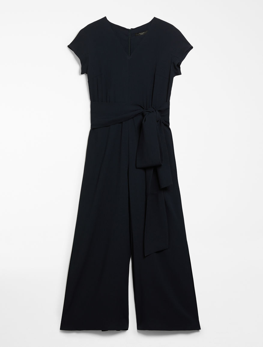 Viscose sable jumpsuit Weekend Maxmara