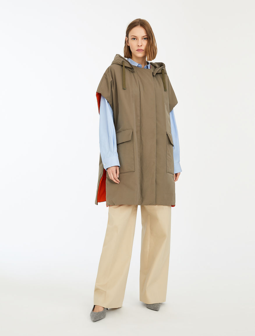 Reversible cotton gabardine gilet Weekend Maxmara
