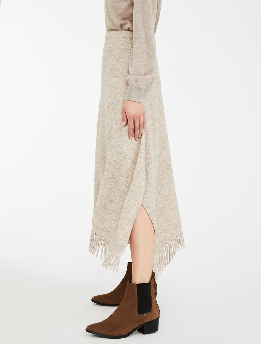 Gonna in filato di alpaca, lana e cotone Weekend Maxmara