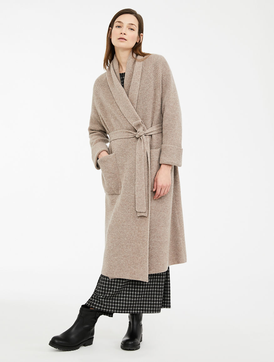 Cappotto in filato di lana Weekend Maxmara