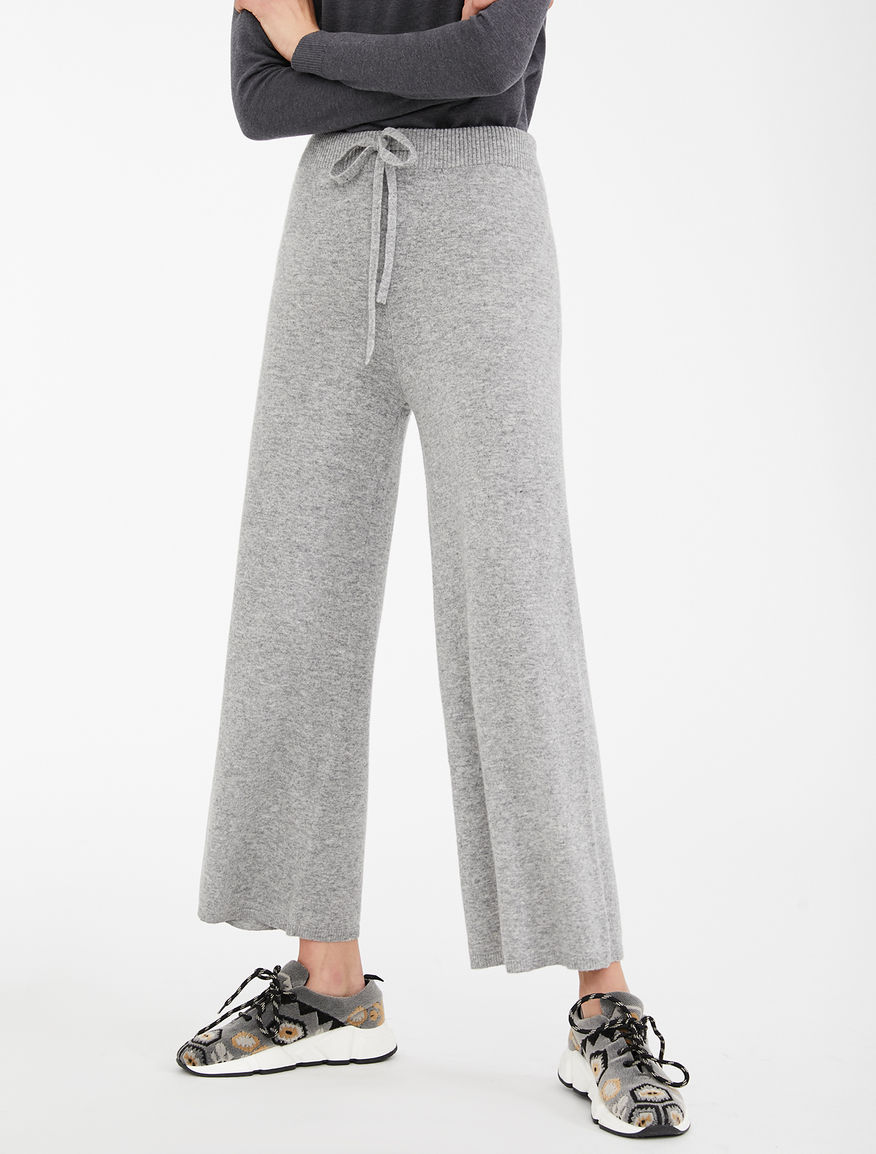 Pantaloni in filato di lana Weekend Maxmara