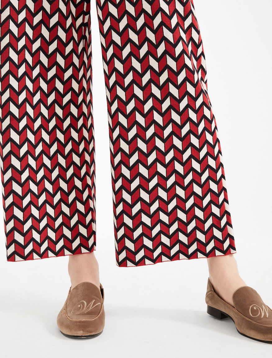 Trousers in jacquard yarn Weekend Maxmara
