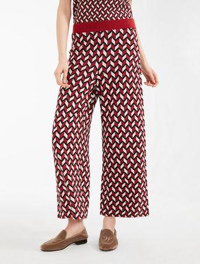 Pantaloni in filato jacquard Weekend Maxmara