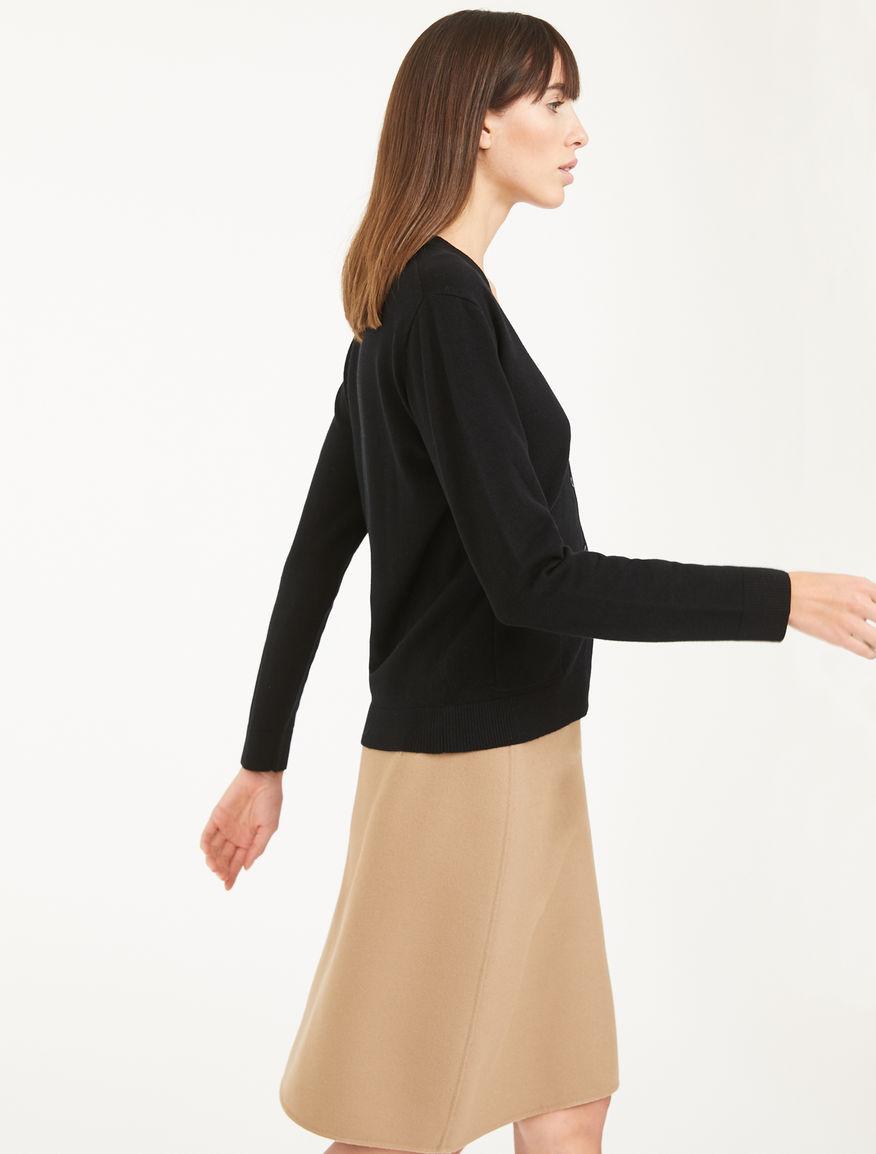 Silk and wool yarn cardigan Weekend Maxmara