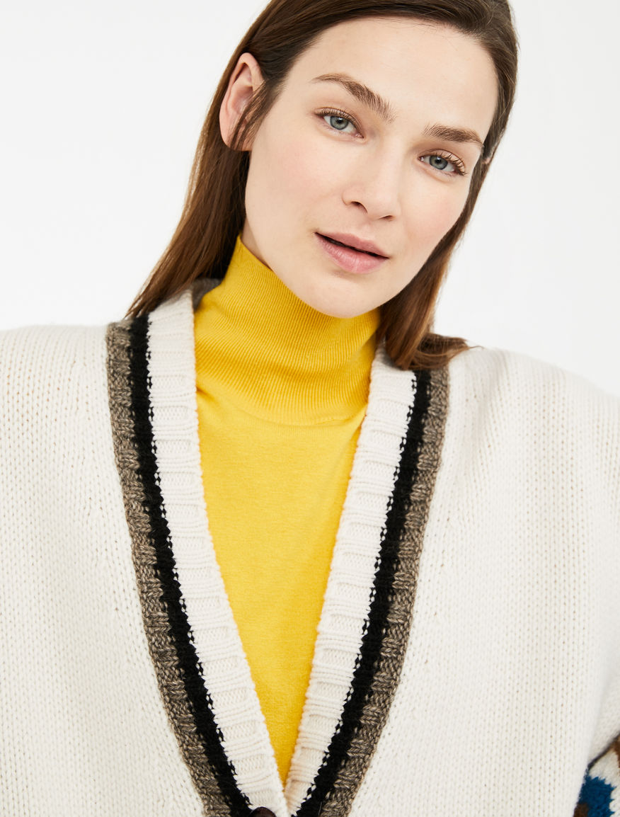 Wool, alpaca and mohair yarn cardigan Weekend Maxmara