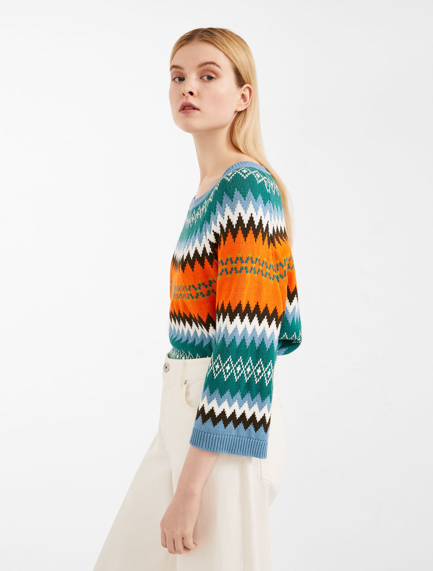 Jumper in jacquard yarn Weekend Maxmara