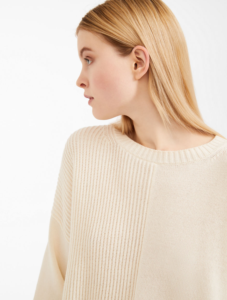 Cotton and wool yarn jumper Weekend Maxmara