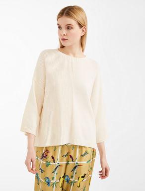Maglia in filato di cotone e lana Weekend Maxmara